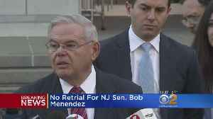 News video: Government Won't Retry Menendez On Corruption Charges