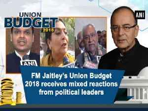 News video: FM Jaitley's Union Budget 2018 receives mixed reactions from political leaders
