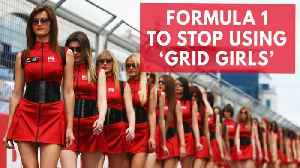News video: Formula 1 to stop using 'Grid Girls' in new season
