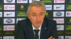 News video: Second round minimum for Socceroos in Russia, says new coach Van Marwijk