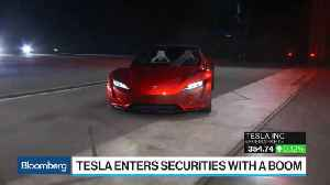 News video: Tesla Enters Securities With a Boom
