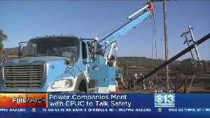 News video: California Power Companies Looking For Ways To Minimize Fire Risks