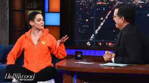 News video: Rose McGowan Discusses Harvey Weinstein Scandal on 'Late Show'   THR News