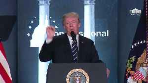 News video: President Trump Says He 'Didn't Care' About Oil Drilling in Alaska's Arctic Refuge Until a Friend Told Him