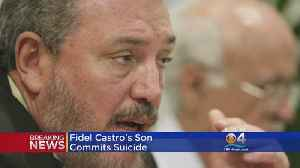 News video: Eldest Son Of Fidel Castro Takes His Own Life