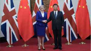 News video: Chinese State Media Praises 'Pragmatic' Theresa May For Not Mentioning Human Rights