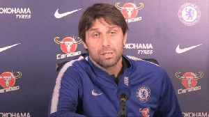 News video: Antonio Conte insists he will stay in charge at Chelsea
