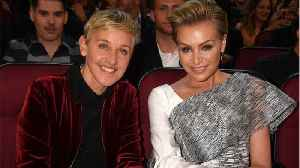 News video: Portia de Rossi's birthday gift to Ellen made her cry on TV, and you're gonna cry too