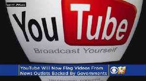 News video: YouTube Begins Flagging Videos Backed By Governments