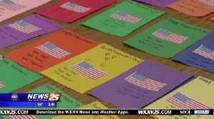 News video: Three Rivers Elementary student starts 'Treasures for Troops