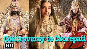 News video: Controversy keep cash register ringing for 'Padmaavat'?