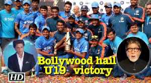 News video: India wins U19 World Cup: Bollywood hail victory