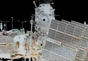 News video: Space Station Cosmonauts Conduct Longest Russian Spacewalk in History