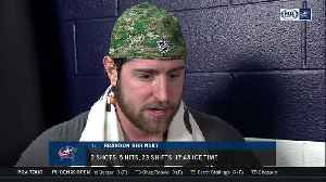 News video: Dubinsky: Blue Jackets must kill and draw more penalties