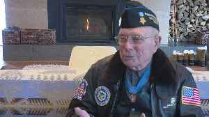 News video: Minn. WWII Veteran To Do Super Bowl Coin Toss