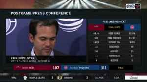 News video: Erik Spoelstra: 'Giving up 35 in the 4th (quarter) is not the formula'