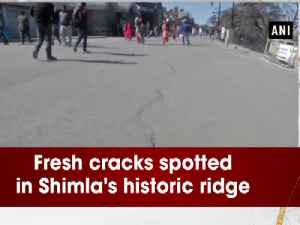 News video: Fresh cracks spotted in Shimla's historic ridge