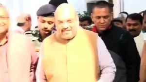 News video: Amit Shah Makes His Debut In Parliament