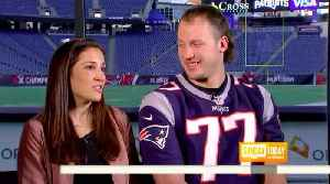 News video: nate solder and his son battling cancer