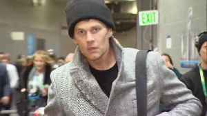News video: What You Didn't See at the Super Bowl: Tom Brady Leaving Looking Miserable