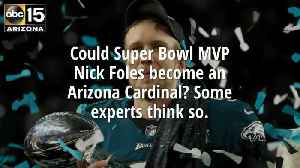 News video: Could Nick Foles end up with the Arizona Cardinals?