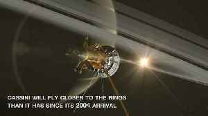 News video: NASA Video: Cassini's High Flying, Ring Grazing Orbits - Close Encounters With Saturn