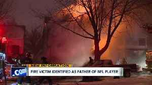News video: NFL player mourns loss of four family members who died in South Collinwood house fire last week