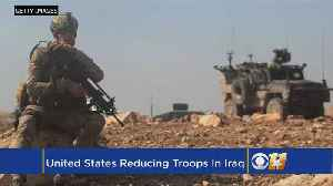 News video: US Begins Reducing Troops In Iraq After Victory Over IS