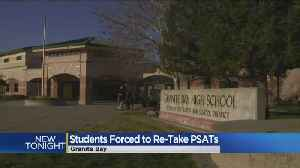 News video: Granite Bay PSAT Scores Tossed After Students Given Wrong Test