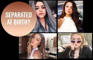News video: Can you tell? The craziest celeb doppelgangers