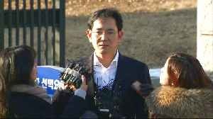 News video: Samsung heir's release sparks controversy in S Korea
