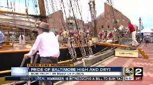 News video: Pride of Baltimore II in troubled financial waters