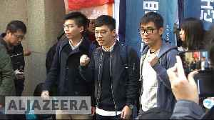 News video: Hong Kong protest leaders freed from prison