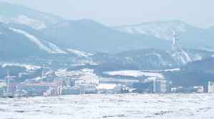 News video: In a tense and windy place, Winter Olympics come to PyeongChang, South Korea