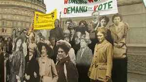 News video: Britain to consider pardoning suffragettes