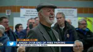 News video: 'This isn't the answer': Residents angered over pay to park plan for Milwaukee County Parks