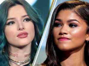 """News video: Bella Thorne Addresses """"Feud"""" with Former 'Shake It Up' Co Star Zendaya"""