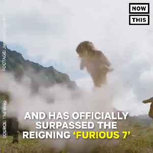 News video: 'Jumanji' is The Rock's Highest Grossing Domestic Movie