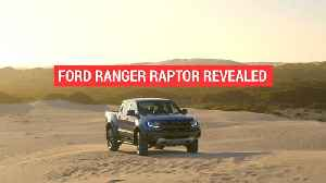 News video: New Ford Ranger Raptor made its global debut in Thailand