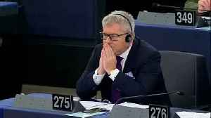 News video: European Parliament axes vice president over Nazi jibe