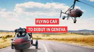 News video: Flying car to debut in Geneva