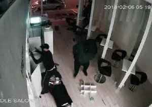 Thieves Ransack Essendon Salon for Haircare Products [Video]