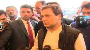 News video: PM Modi Made A Campaign Speech In Parliament Says Rahul Gandhi