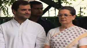 News video: Sonia Gandhi Says She Is Not Retiring