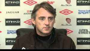 News video: Manchester City v Bolton | Mancini talks Tevez, Balotelli and Bolton