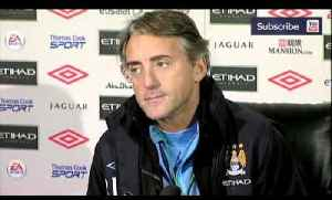 News video: Manchester City v Norwich | Roberto Mancini wary of tough Christmas schedule
