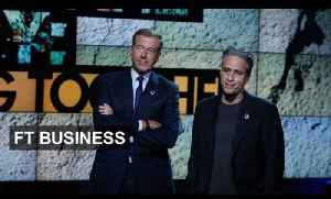 News video: Anchor changes at US news networks | FT Business