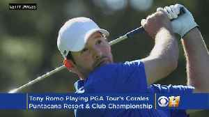 News video: Report: Tony Romo To Play In PGA Tour Event