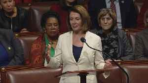 News video: Pelosi sets record for longest continuous speech in the U.S. House