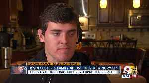 News video: Ryan Custer adjusts to a new normal